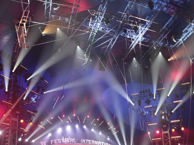 Chapiteau du cirque de Monaco