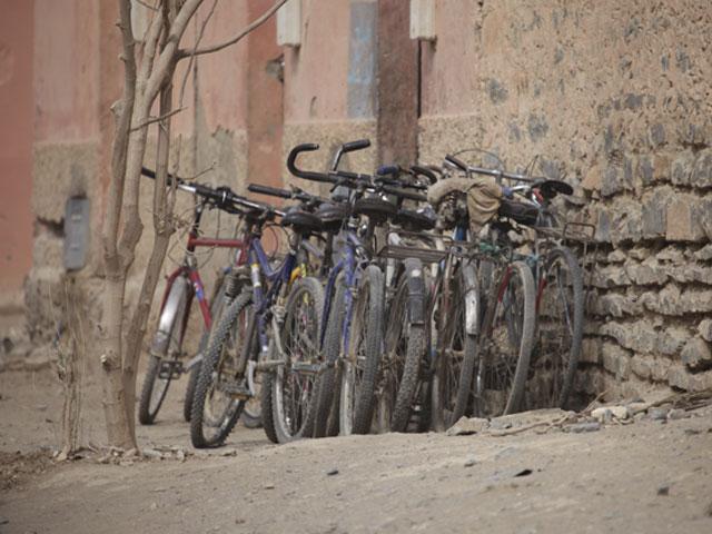 Garage à vélos Marocain