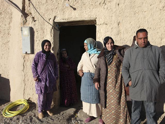 Fondation Altéa àTalsint – Larbi et sa famille