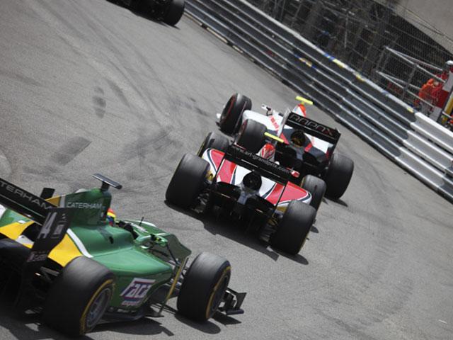 GP2 au Grand Prix de Monaco 2013