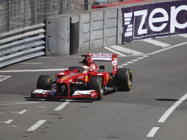 GP de F1 Monaco 2013- Ferrari