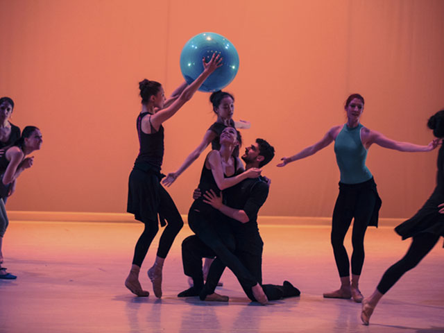 Les Ballets de Monte Carlo-Répétition