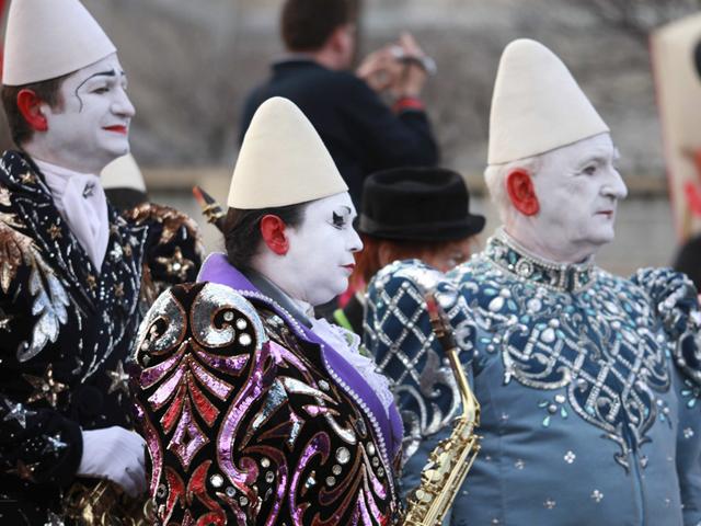 Les clowns blancs